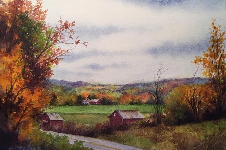 Rainey Dewey Art Autumn