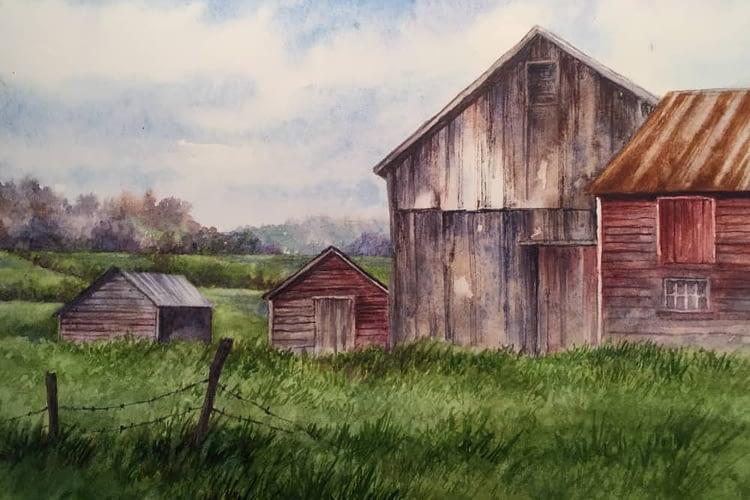 Rainey Dewey Art Barns