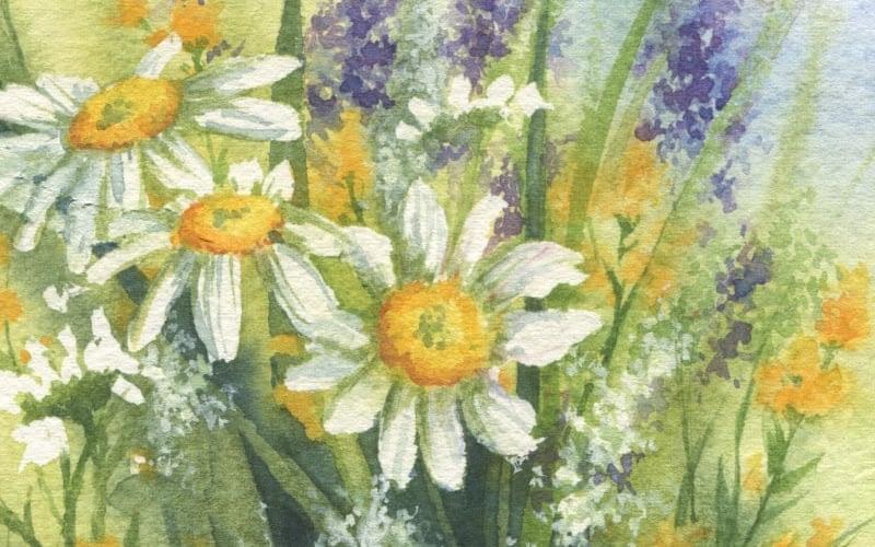 Rainey Dewey Art Flowers