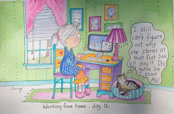Working from home - day 12