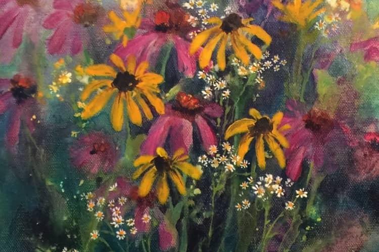 Rainey Dewey Art Flower Bouquet