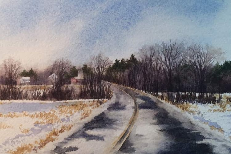 Rainey Dewey Art Shunpike Road