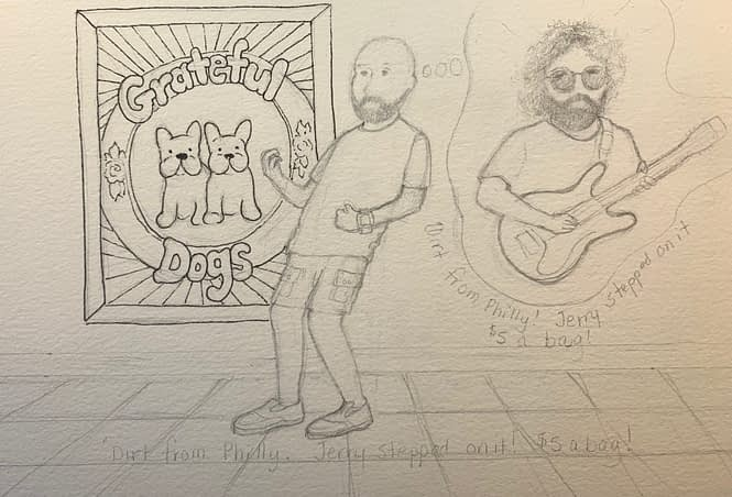 Sketch for JEG and Jerry Jammin